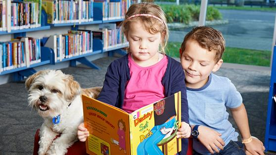 New reading programme, Dogs in Libraries