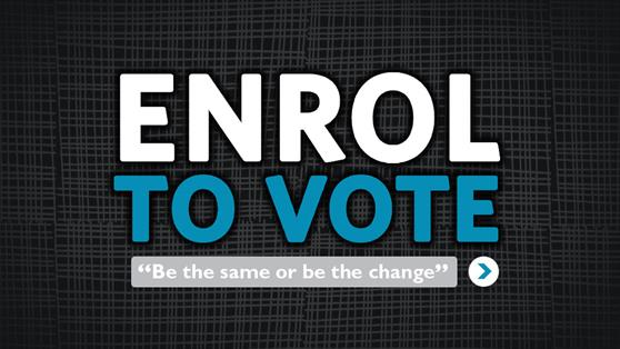Are you enrolled to vote?