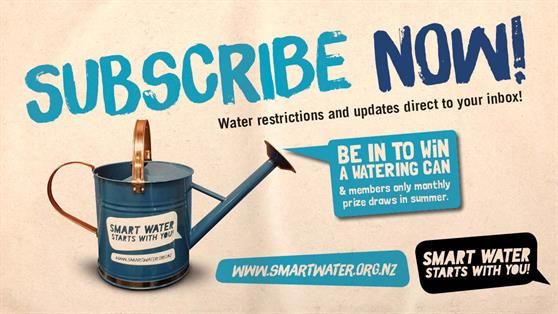 Subscribe to the Smart Water mailing list