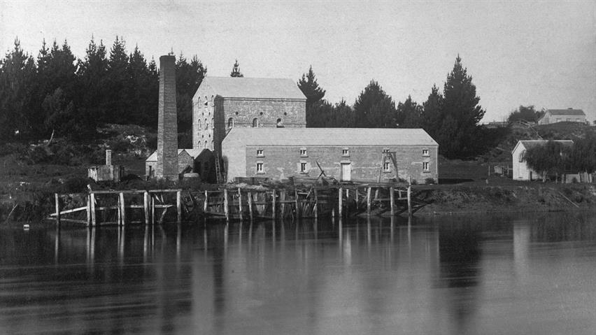 Flour Mill, Ngaruawahia - historic