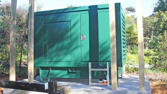 Greenslade Rd generator ready to go