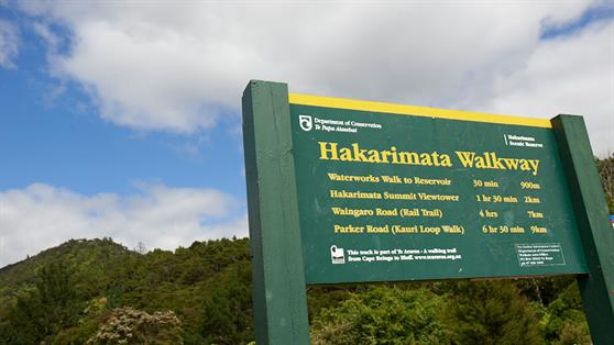 The Hakarimata Walkway