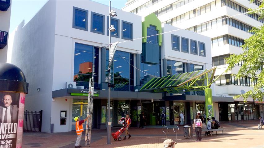 Hamilton Central Library