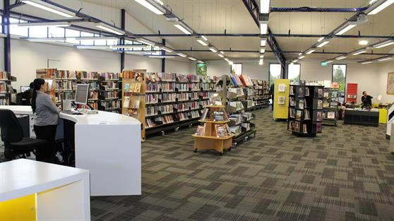 Huntly Library and Office opening