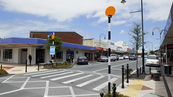 Huntly main street