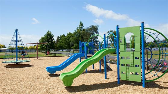Waikato District Council managed playground in Huntly