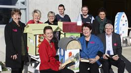 LIttle libraries build for rural Waikato district communities by Spring Hill prisoners
