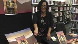 Kimai Huirama, author of Wahia Nga Rua at the book launch in June.