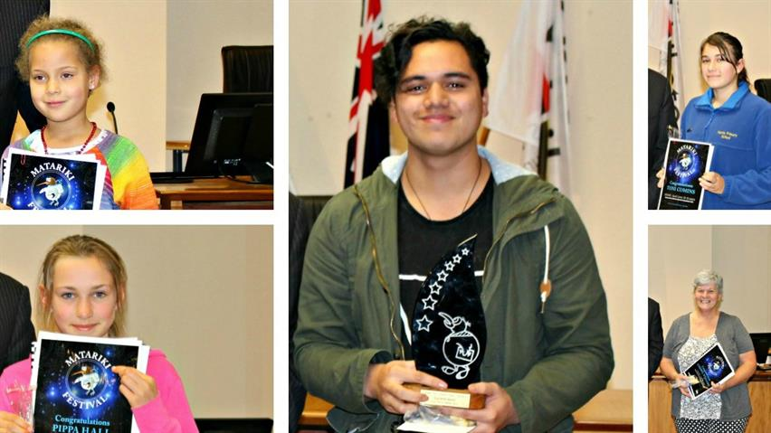Matariki competition 2016 winners