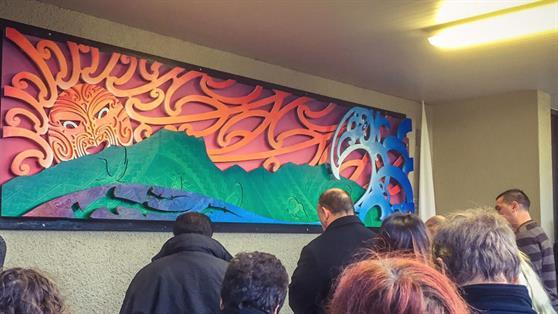 Raglan mural