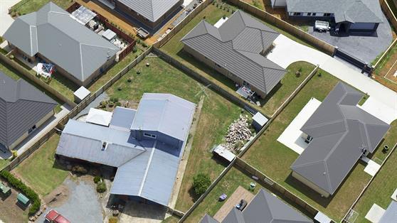 New housing development in Pokeno