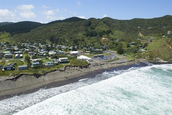 Port Waikato erosion