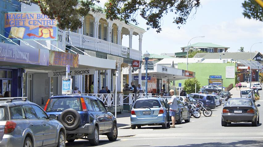 Council has been awarded funding to boost infrastructure in the tourism hot spot of Raglan