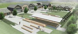 Tamahere recreation reserve piazza area concept plan