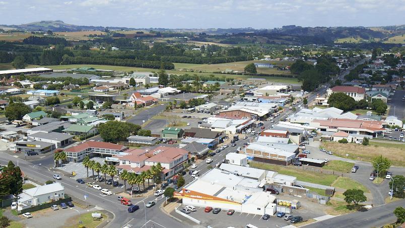 Aerial view of Tuakau