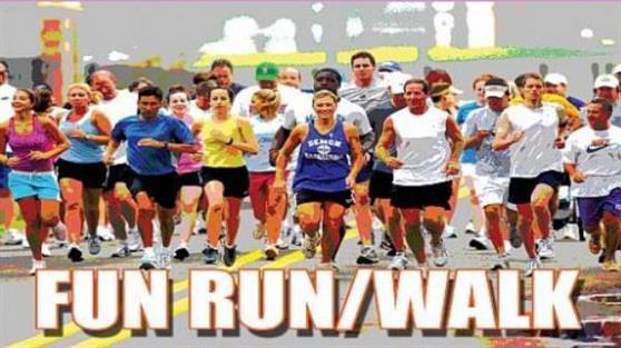 Tuakau fun run poster