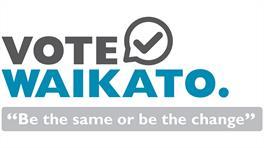 Vote Waikato logo