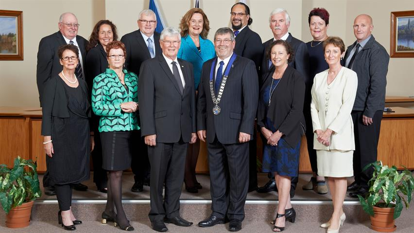 Waikato District Councillors and Mayor