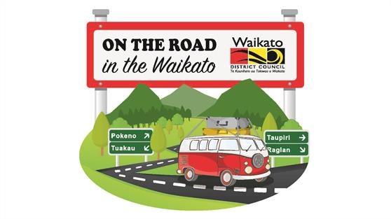 On the road in the Waikato