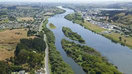 Waikato River at Huntly