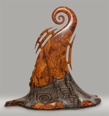 Wayne-Ross sculpture in Ngaruawahia