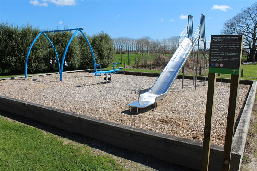 Matangi Recreation Reserve playground
