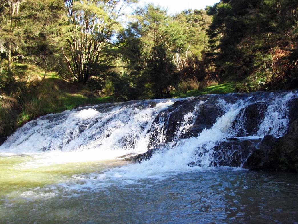karakariki waterfall