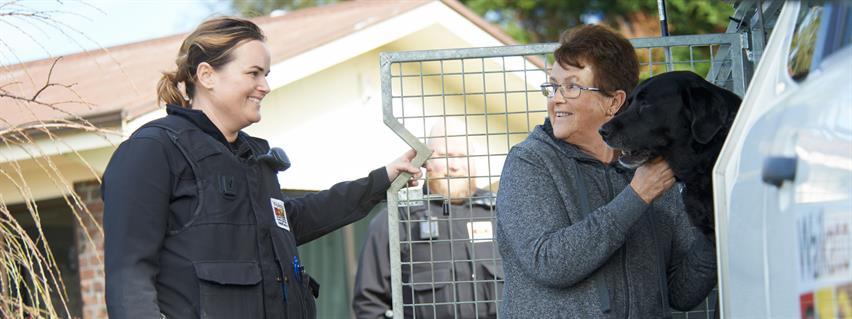 Waikato District Council Animal Control team