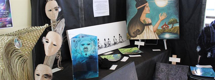 Matariki Travelling Suitcase Art Exhibition