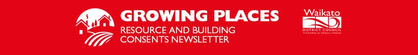 Growing Places e-newsletter