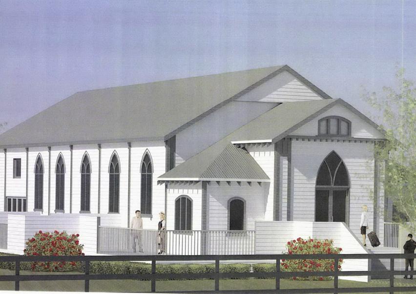 Te Kowhai church