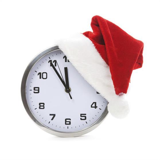 alarm-clock-with-christmas-santa-hat