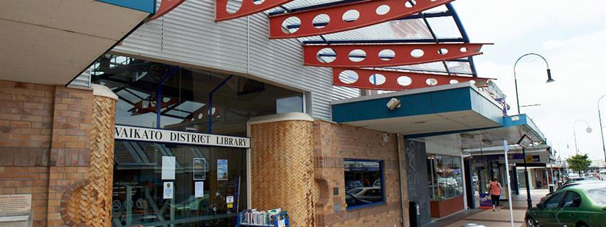 Visit Huntly library