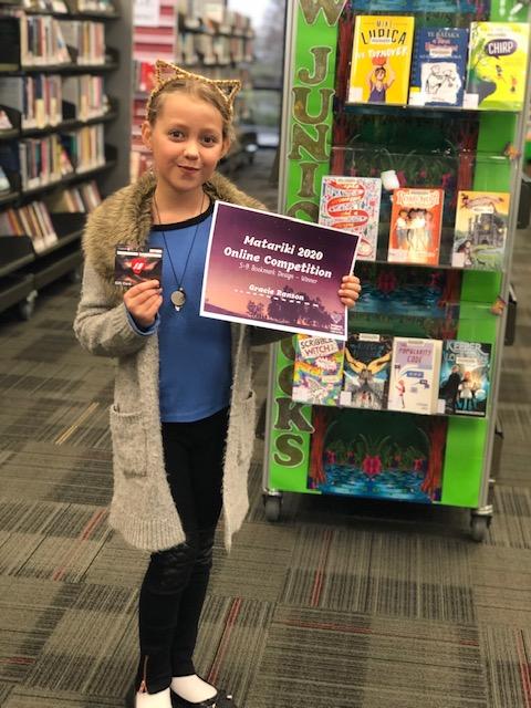 Gracie Ranson - Bookmark winner 5-9