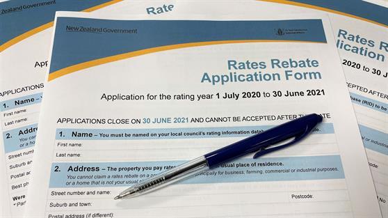 Rates rebate