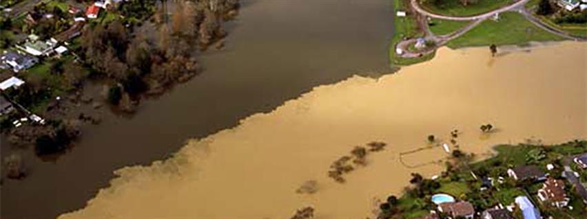Stormwater - Ngaruawahia flood 1998