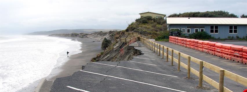 Port Waikato erosion - September 2019