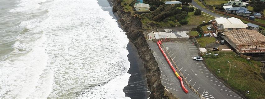 Port Waikato erosion - November 2019