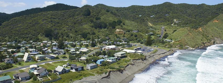 Port Waikato overview