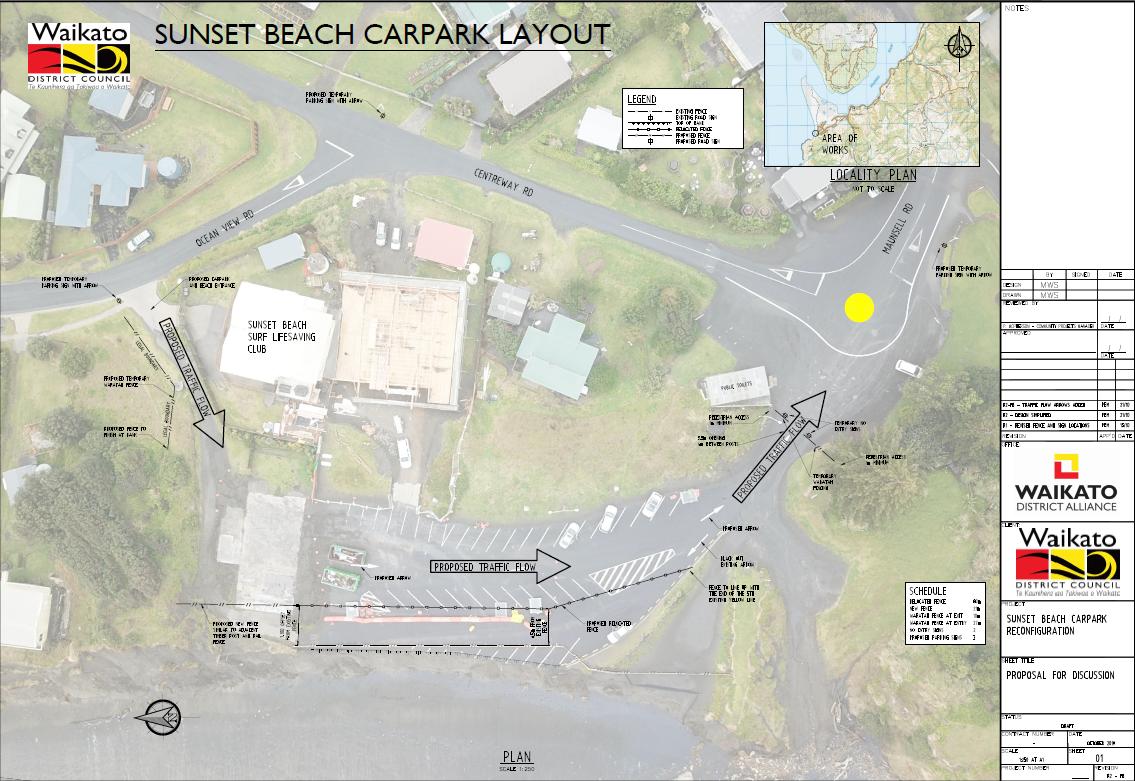 R1 Port Waikato carpark