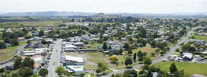 Te Kauwhata town