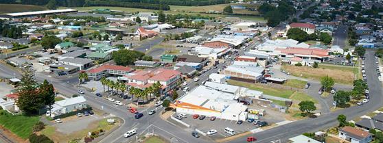 Tuakau aerial photograph