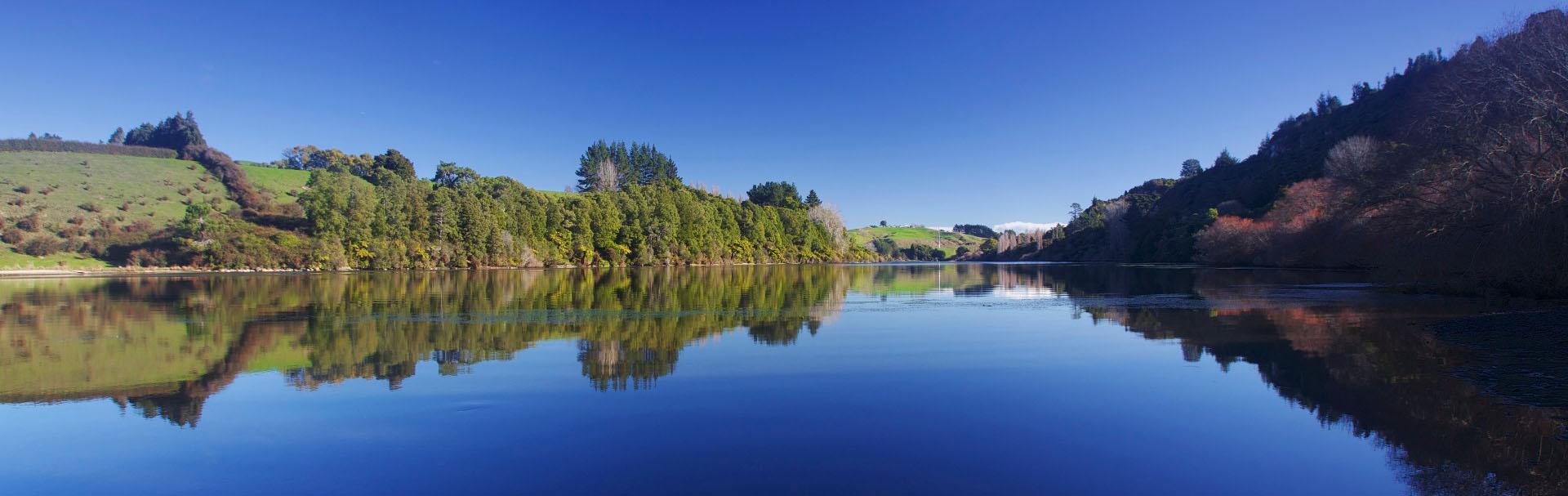 Waikato river landscape