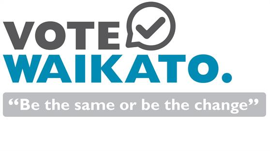 Vote Waikato - Be the same or be the change
